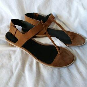 Tibi Brown Suave Sandals Size 40.5